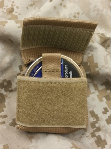 MOLLE Tobacco Dip Pouch Coyote